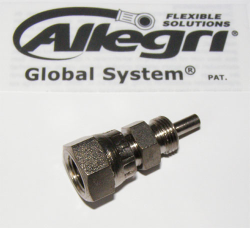 06GS3707 Global System, Fitting 3/8x24UNF, 0°