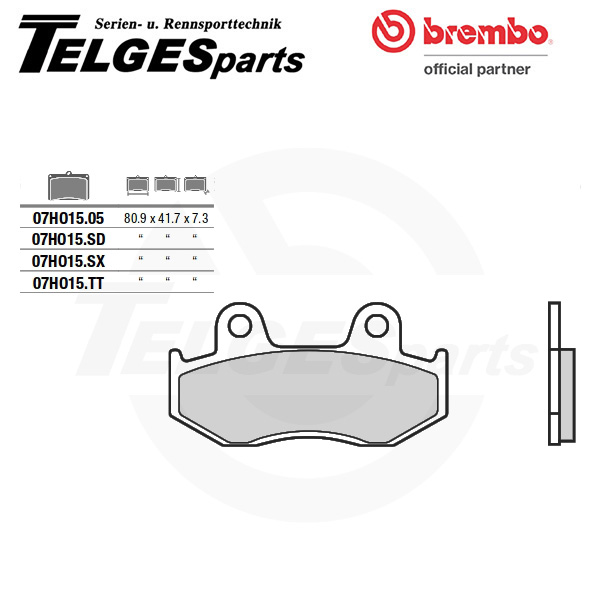 07HO1505 Brembo Brake Pad - CC Carbon Ceramic Road