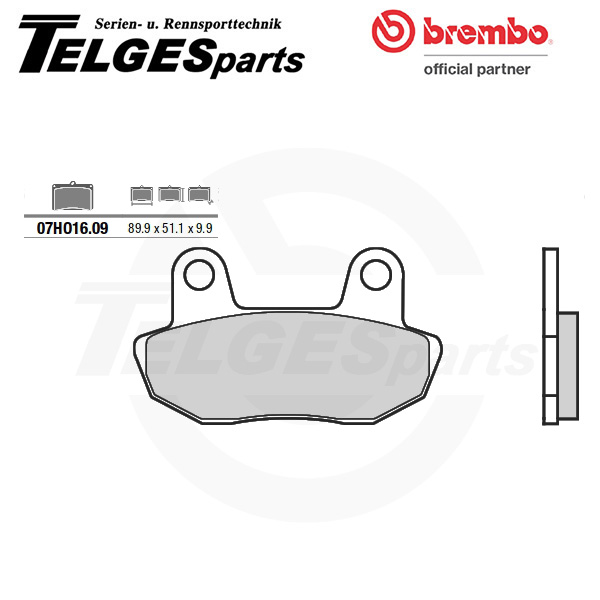 07HO1609 Brembo Brake Pad - CC Carbon Ceramic Road
