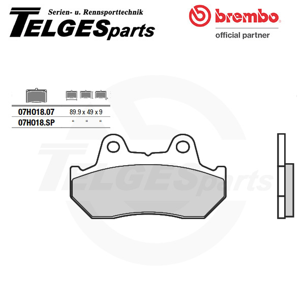 07HO1807 Brembo Brake Pad - CC Carbon Ceramic Road
