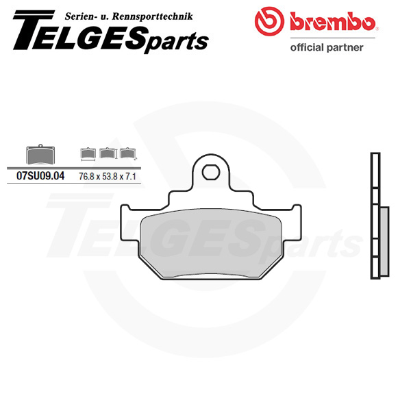 07SU0904 Brembo Brake Pad - CC Carbon Ceramic Road
