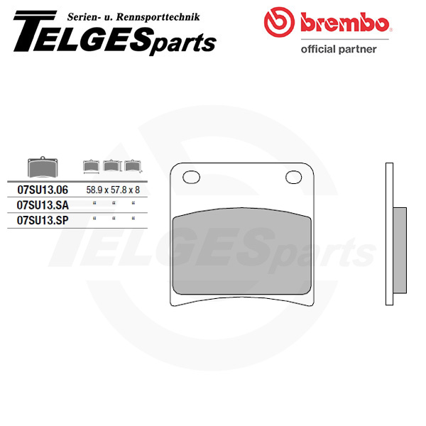 07SU1306 Brembo Brake Pad - CC Carbon Ceramic Road