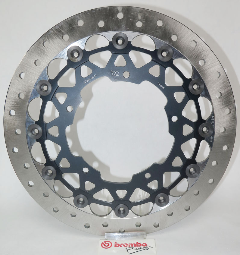 Brembo Racing Brake Disc for Yamaha R1, M '15-, 08755021