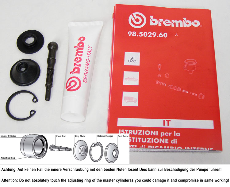 Brembo Repair kit for PR19/16 Forged