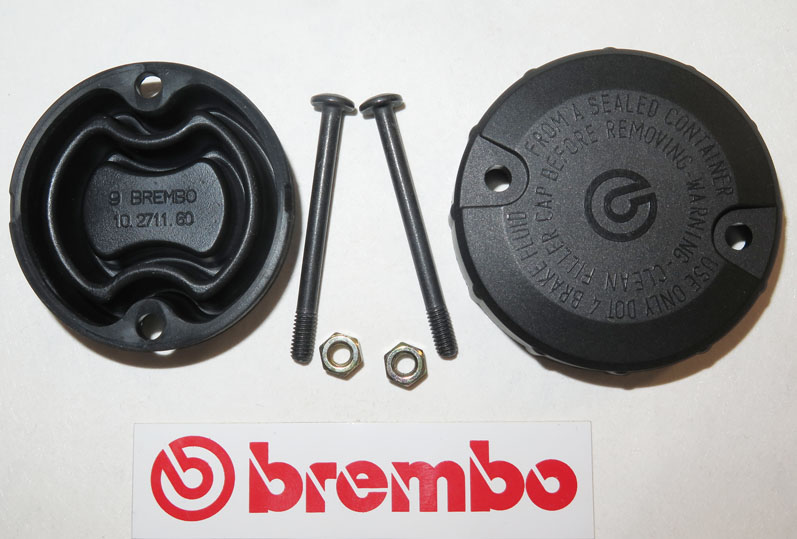 Brembo Cap and Membrane, round, with screws