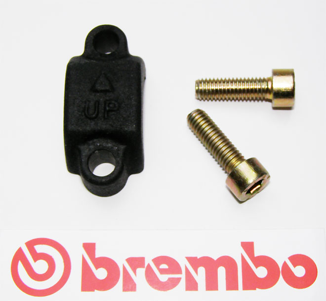 Brembo Clamp, black, for Brembo Master Cylinders