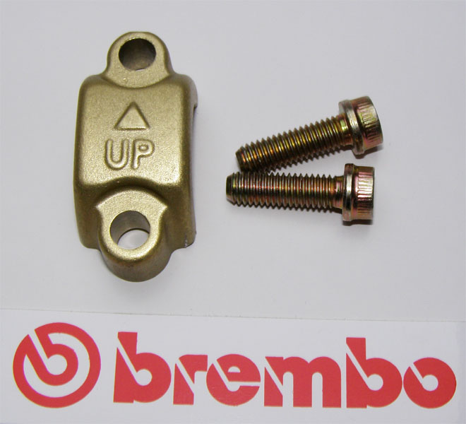 Brembo Clamp, gold, for Brembo Master Cylinders