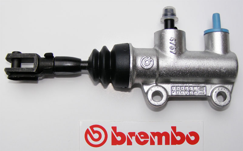 10477685 Brembo rear master cylinder PS 12E, silver