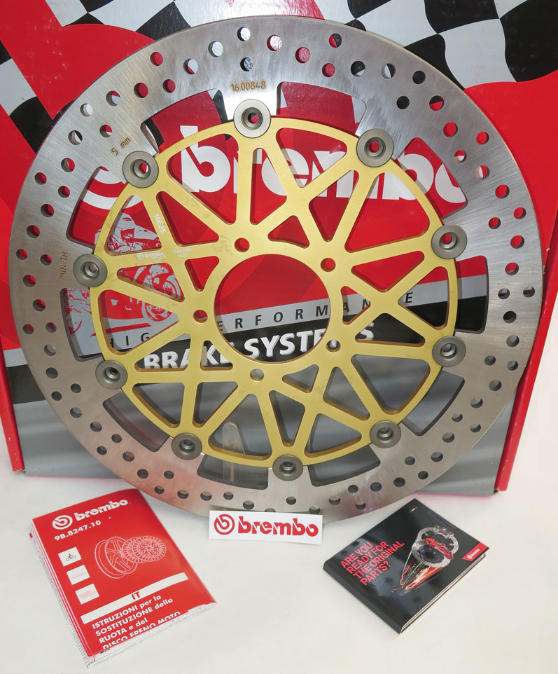 Brembo High-Performance Brake Disc 108B85958