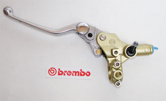 10974025 Brembo clutch master cylinder PSC 12, gold