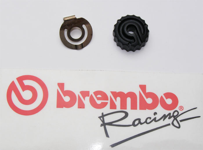 Brembo lever adjustment knob with click spring f. 19/16/15 RCS