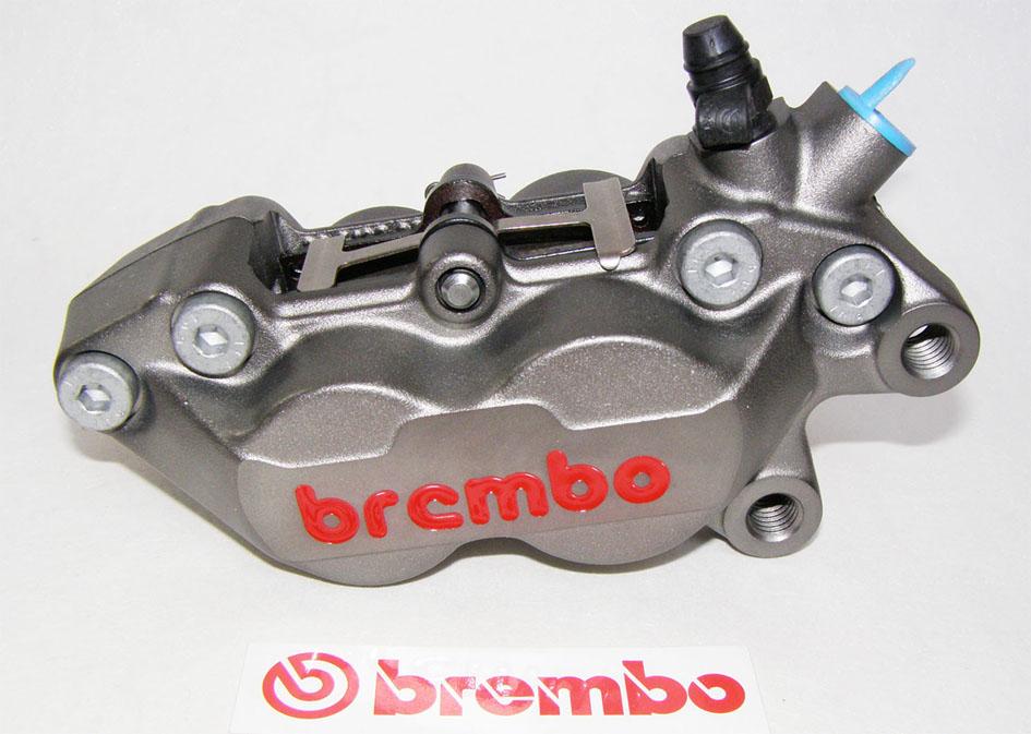 brembo bremszange p4 30 34 titanium finish rechts. Black Bedroom Furniture Sets. Home Design Ideas