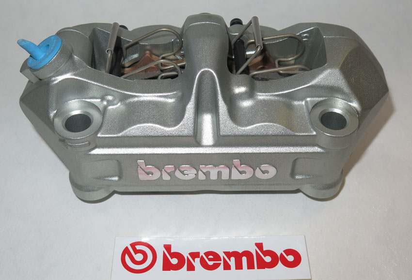 Brembo Caliper, Radial P4 34/34, silver, left side