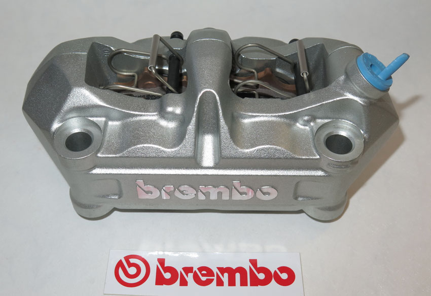 Brembo Caliper, Radial P4 34/34, silver, right side