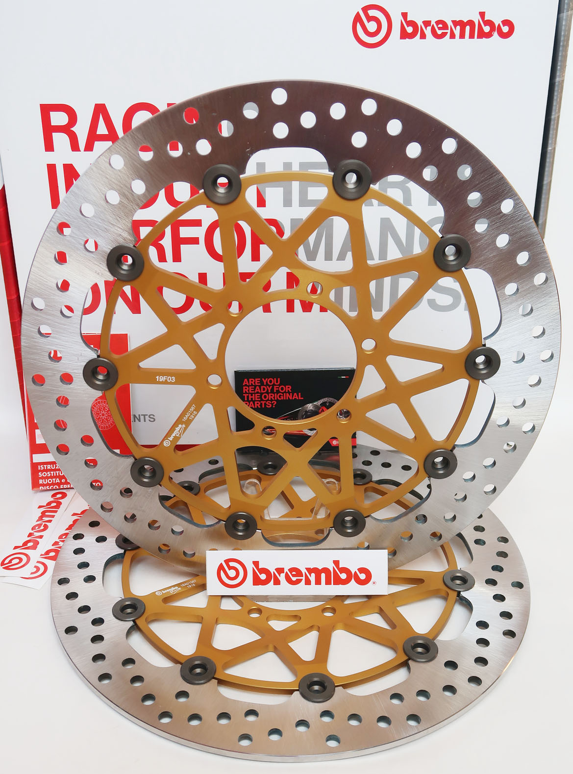 Brembo High-Performance Brake Discs Kit 208973767