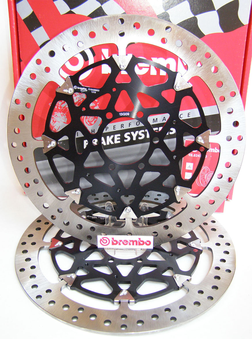 Brembo High-Performance Brake Discs Kit 208A98553