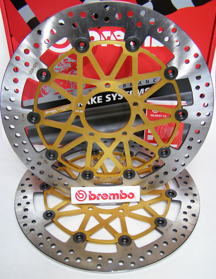 Brembo High-Performance Brake Discs Kit 208B85936