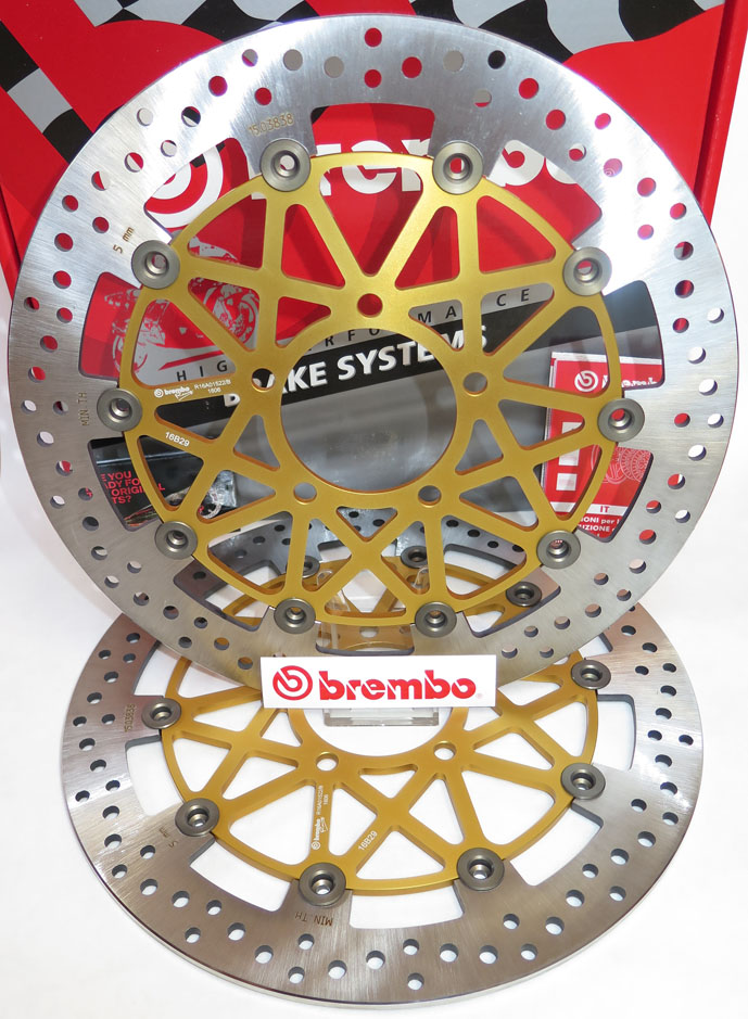 Brembo High-Performance Brake Discs Kit 208B85961
