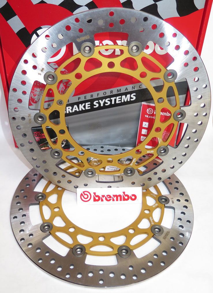Brembo High-Performance Brake Discs Kit 208B85959