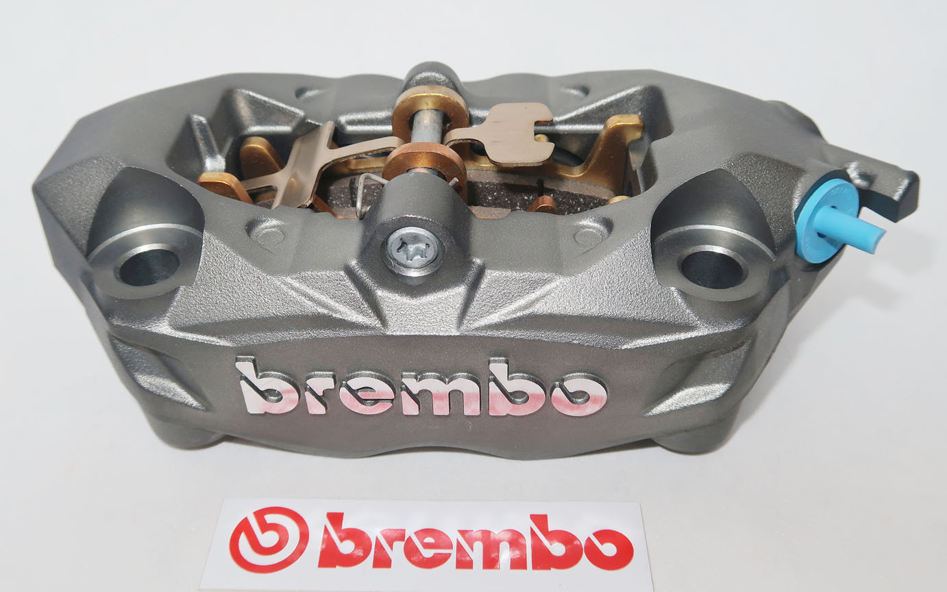 Brembo Caliper, Radial M4 32 Monoblock, Titanium, right side