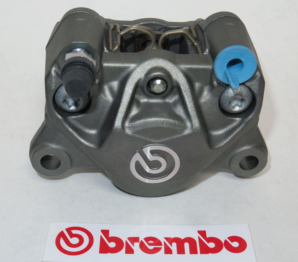brembo bremszange p34g titanium finish telgesparts. Black Bedroom Furniture Sets. Home Design Ideas