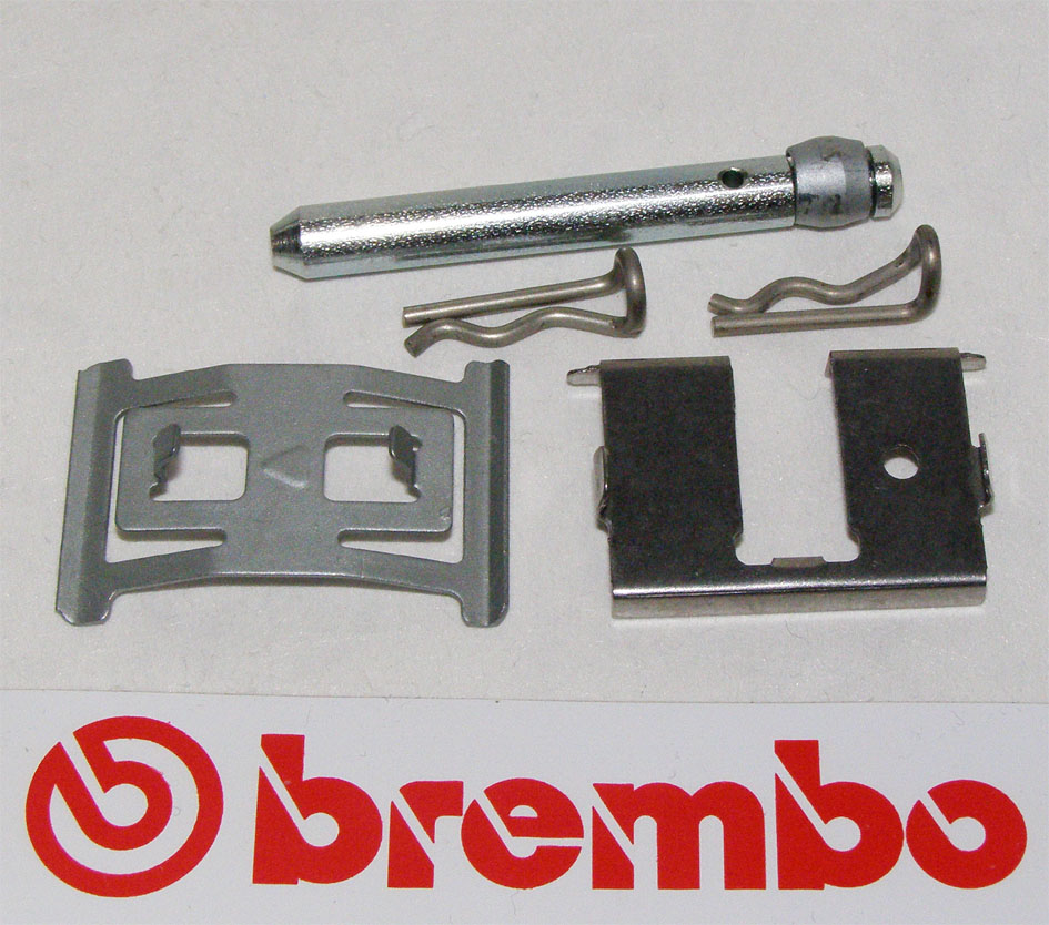 Brembo Pads Spindle kit and Spring Kit for pads for Brembo calip