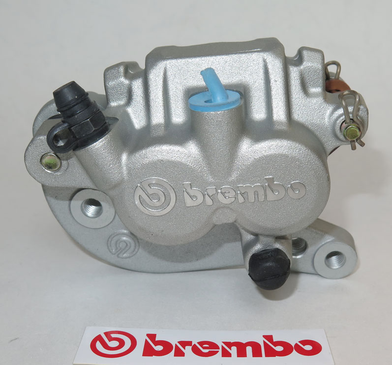 Brembo Caliper, Floating, PF28D, silver, left