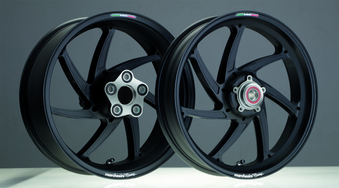 "Alu Forged 17 inch, ""Genesi M7RS"", set, Dual (front and r.)"