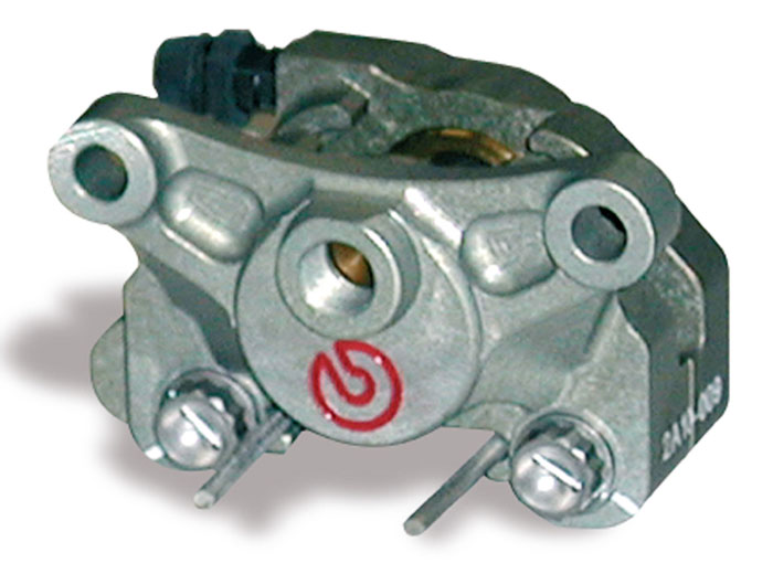 Racing Brake Caliper CNC - 2 pieces P2 24, rear