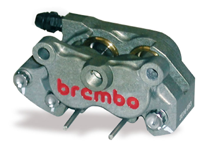 Racing Brake Caliper CNC - 2 pieces P4 24, rear