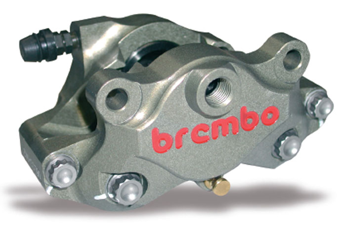 Racing Brake Caliper CNC - 2 pieces P2 30, rear