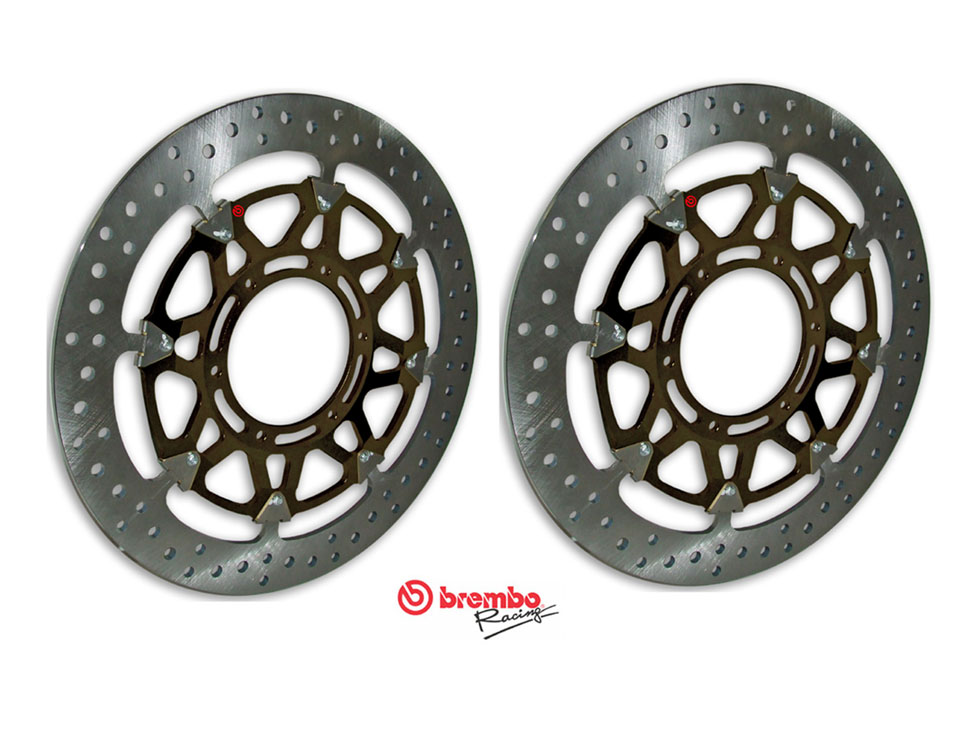 Brembo High-Performance Brake Discs Kit 208C89011