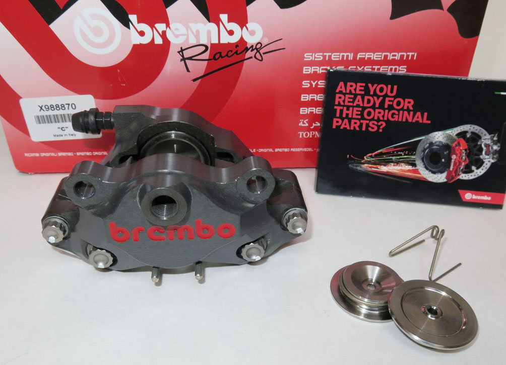 Racing Brake Caliper CNC - 2 pieces P2 34, rear