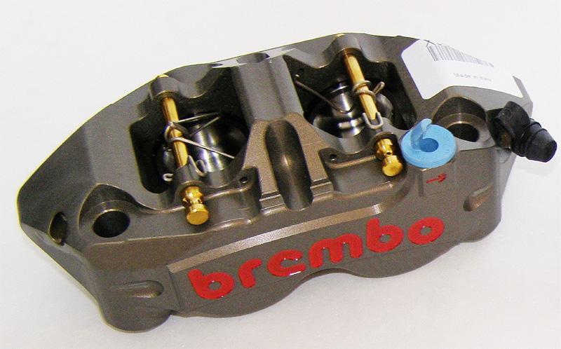 racing bremszange monoblock p4 34 34 108 mm rechts. Black Bedroom Furniture Sets. Home Design Ideas