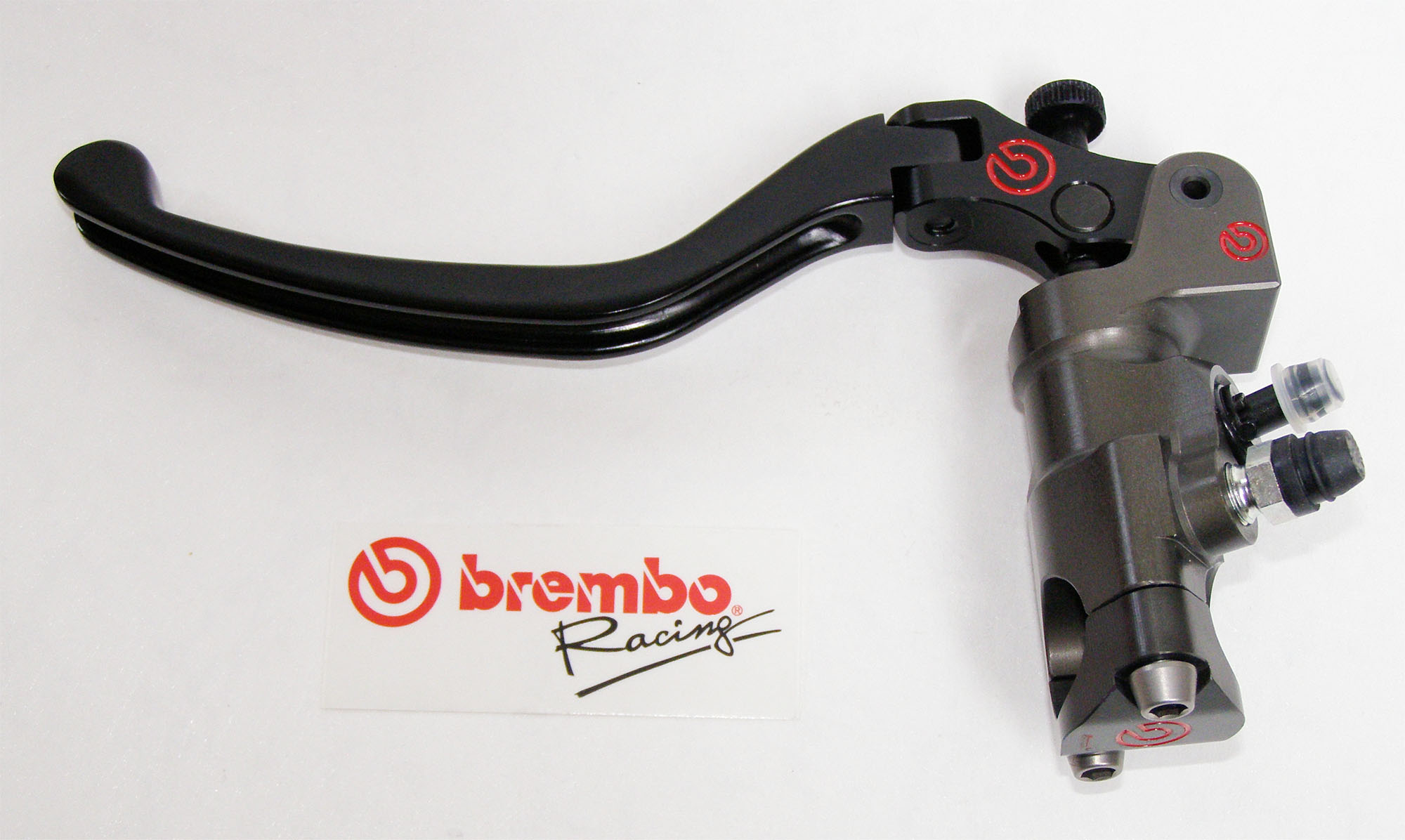Brembo Radial Clutch Master Cylinder PR16x19, CNC, lever folding