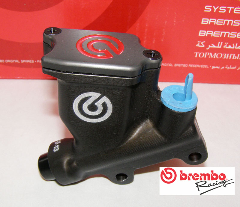 XA52120 Brembo rear master cylinder PS 13, CNC, with reservior