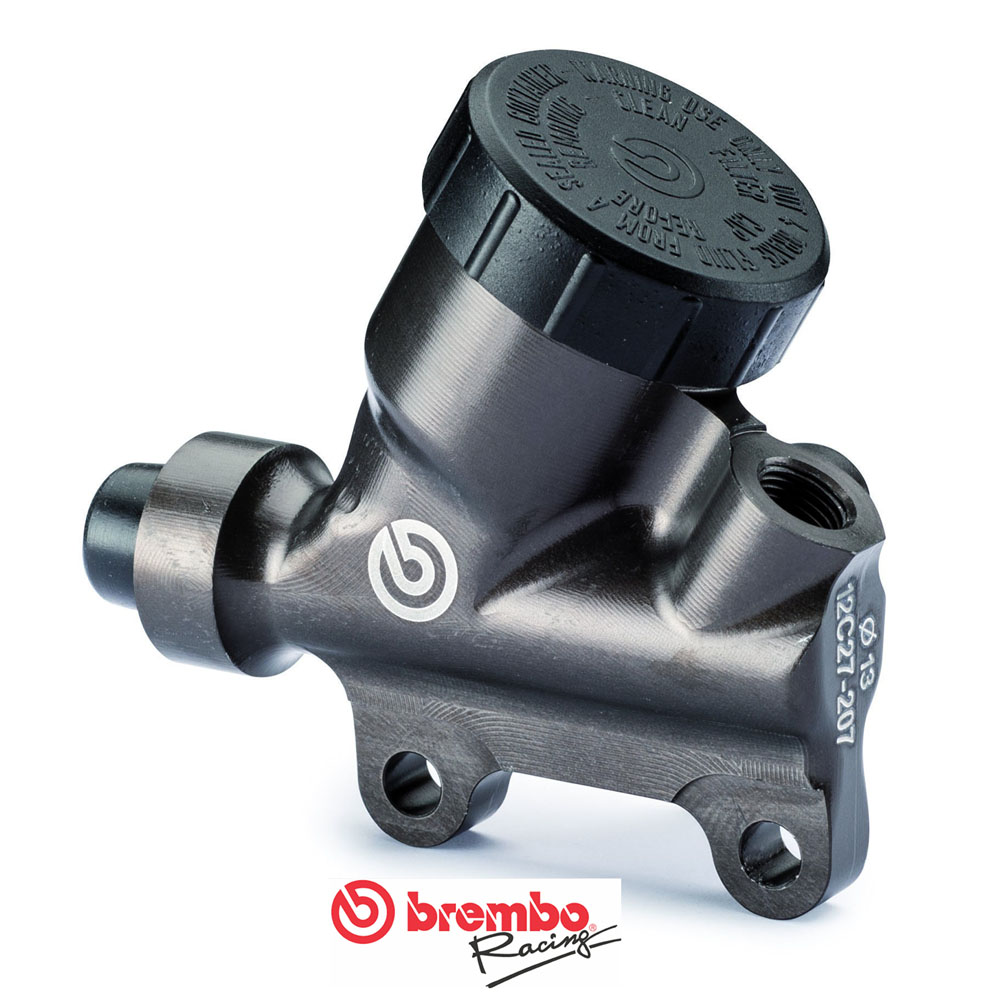 XA52130 Brembo rear master cylinder PS 13, CNC, with reservior