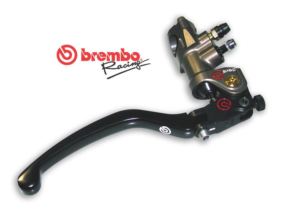 brembo radial master cylinder pr19x18 cnc v rossi. Black Bedroom Furniture Sets. Home Design Ideas