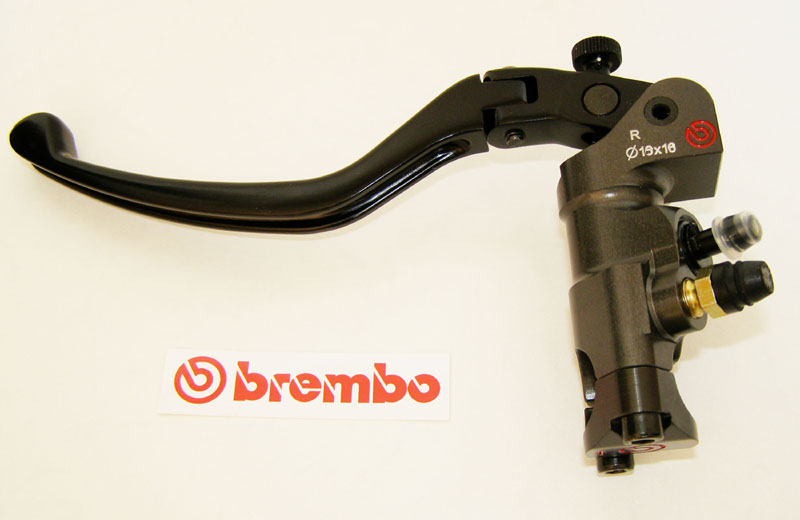 Brembo Radial Clutch Master Cylinder PR19x18, CNC, lever folding