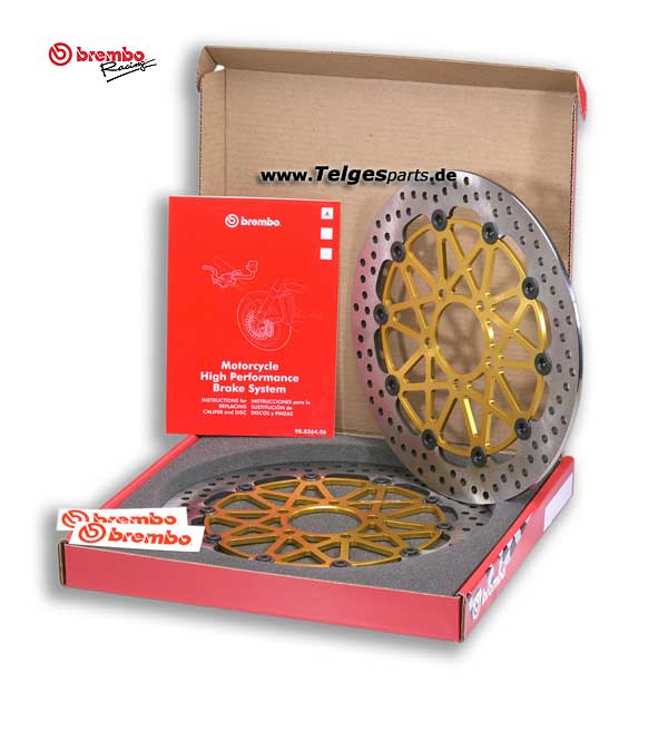 Brembo High-Performance Brake Discs Kit 208973728