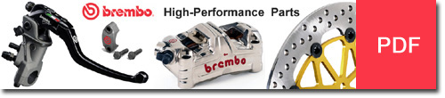 Brembo High Performance Parts usage lists