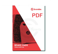 Brembo Brake Pads Compounds